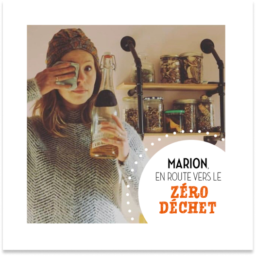 Marion en route vers le zéro déchet avec Jean Bouteille