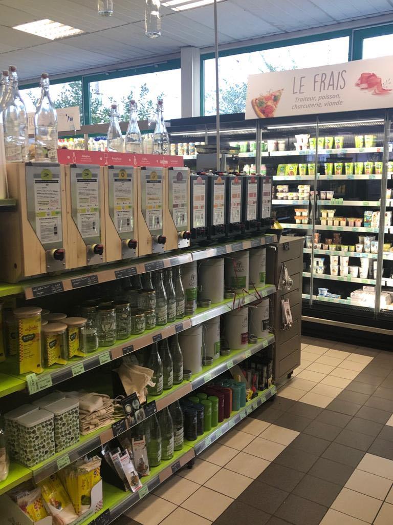 Dans le magasin Bio Harmonie Nature Biomonde à Lille, retrouvez les produits en vrac Jean Bouteille pour la cuisine.