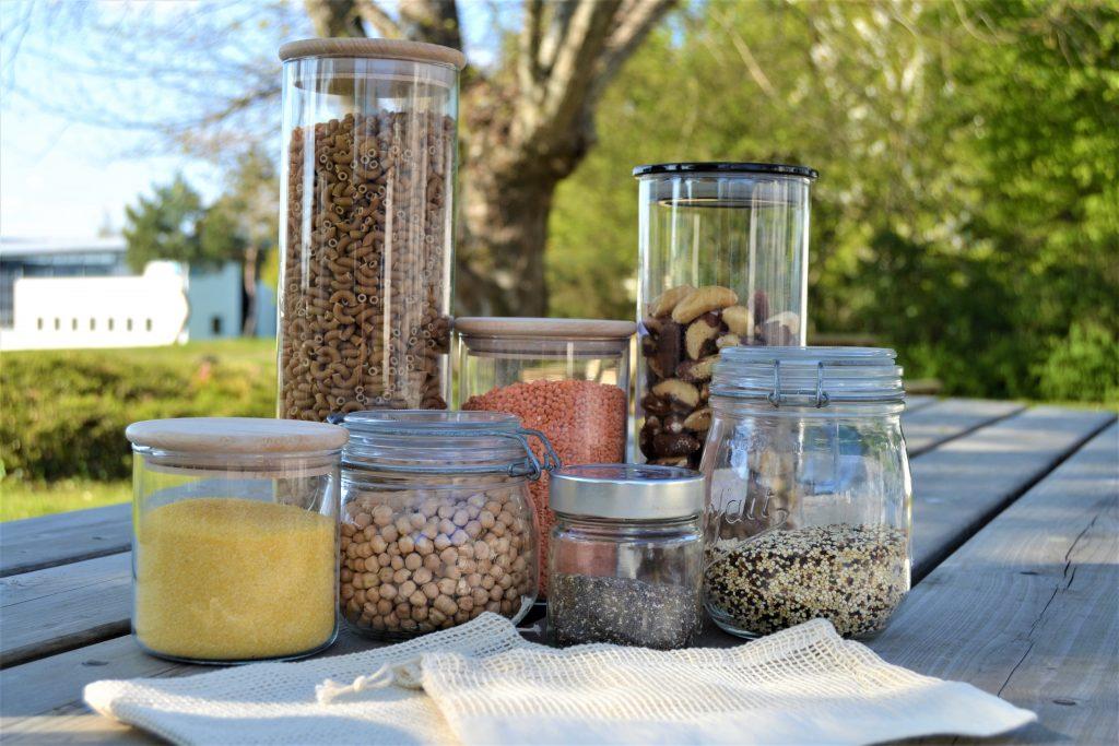 Bocaux réutilisables pour le vrac sec