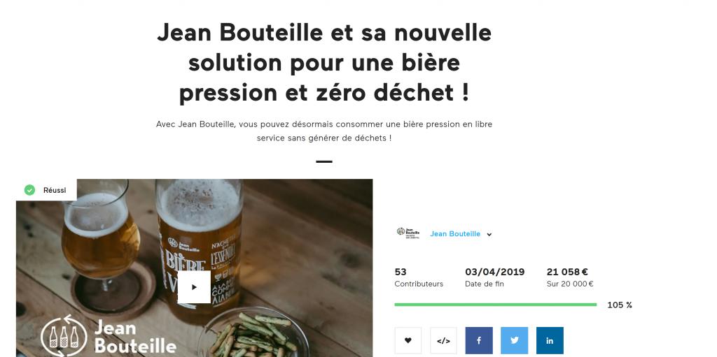 Deuxième campagne de financement pour une Bière zéro déchet
