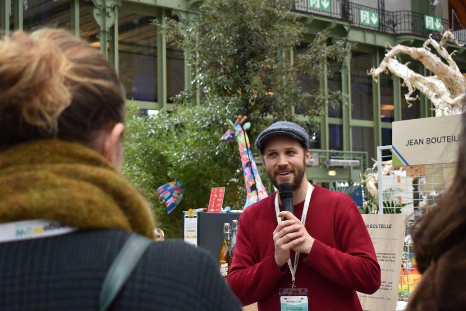 Gérard Bellet, fondateur de Jean Bouteille pitche au sommet ChangeNow 2020