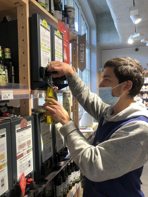 De bons produits zéro déchet : Consommer ses huiles en vrac & ses vinaigres en vrac c'est possible chez Biocoop Boucicaut