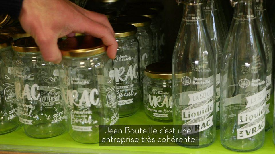 Chez Harmonie Nature Biomonde, retrouvez nos contenants en verre réutilisables et consignables