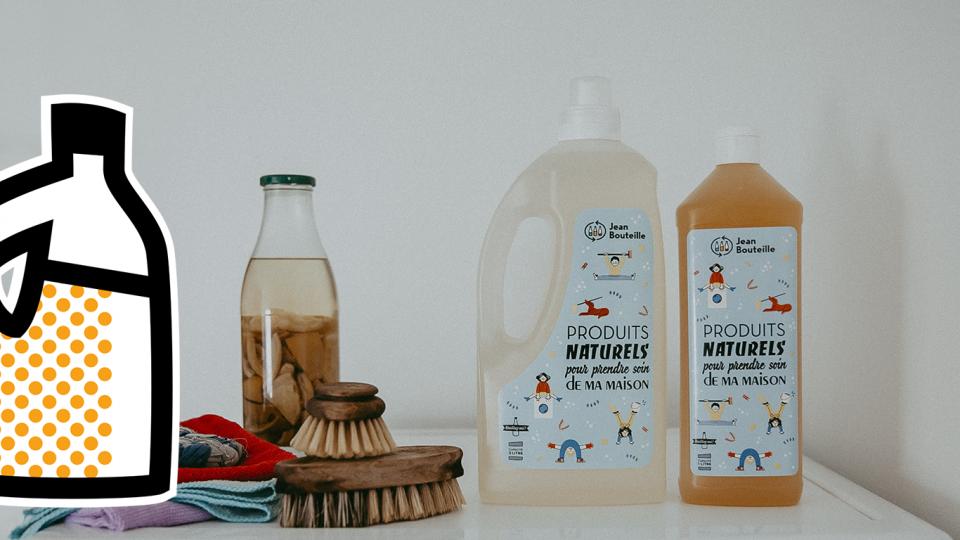 Pour une buanderie zéro déchet : découvrez nos produits d'entretien en vrac