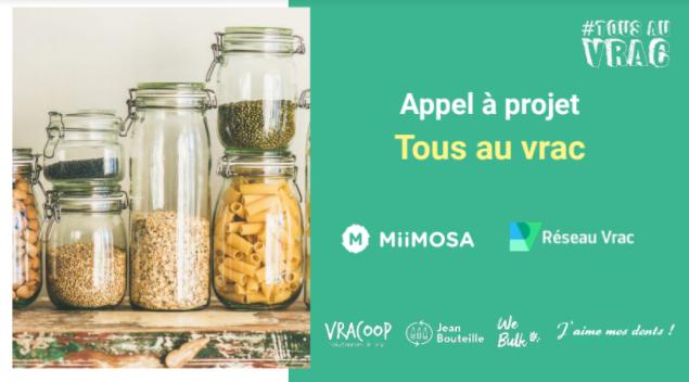 Tous au Vrac : Lancez votre campagne participative sur MiiMOSA