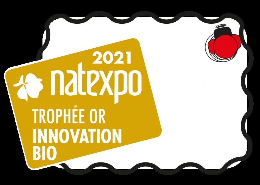 Trophée d'Or Natexpo 2021 pour l'upcycling de nos Bags In Box !