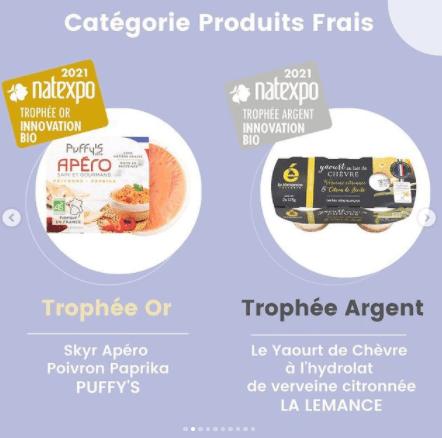 Découvrez les gagnants des Trophées Natexpo catégorie produits frais