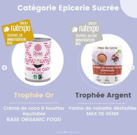Découvrez les gagnants des Trophées Natexpo catégorie épicerie sucrée