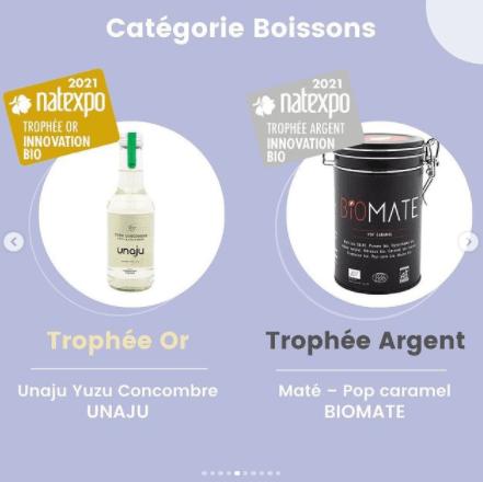 Découvrez les gagnants des Trophées Natexpo catégorie boissons