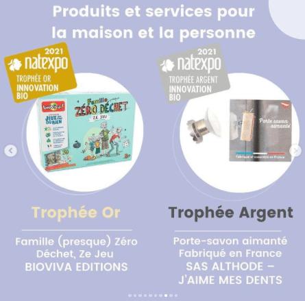 Découvrez les gagnants des Trophées Natexpo catégorie produits et services pour la maison et la personne
