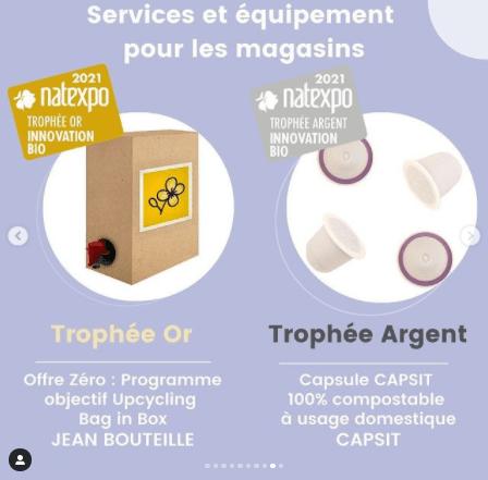 Découvrez les gagnants des Trophées Natexpo catégorie services et équipement pour les magasins