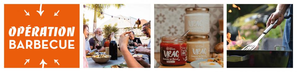 Pimentez tous vos barbecues d'été avec nos sauces bio en vrac
