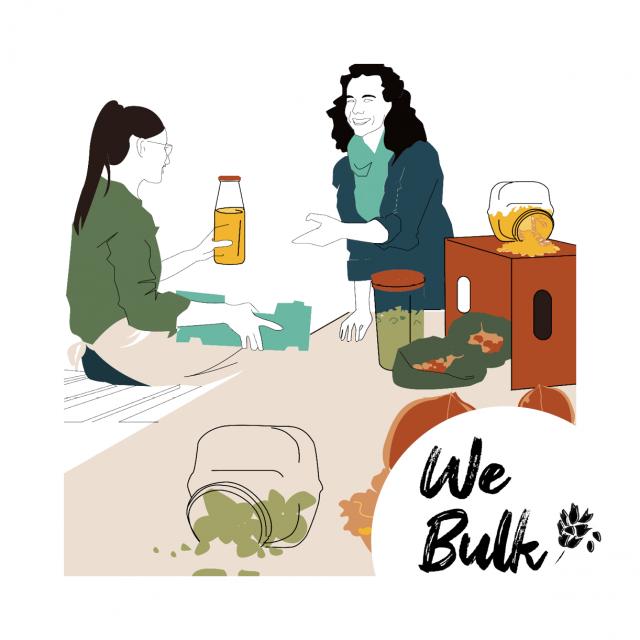 Illustration de WeBulk le e-commerce 3.0 dédié au vrac