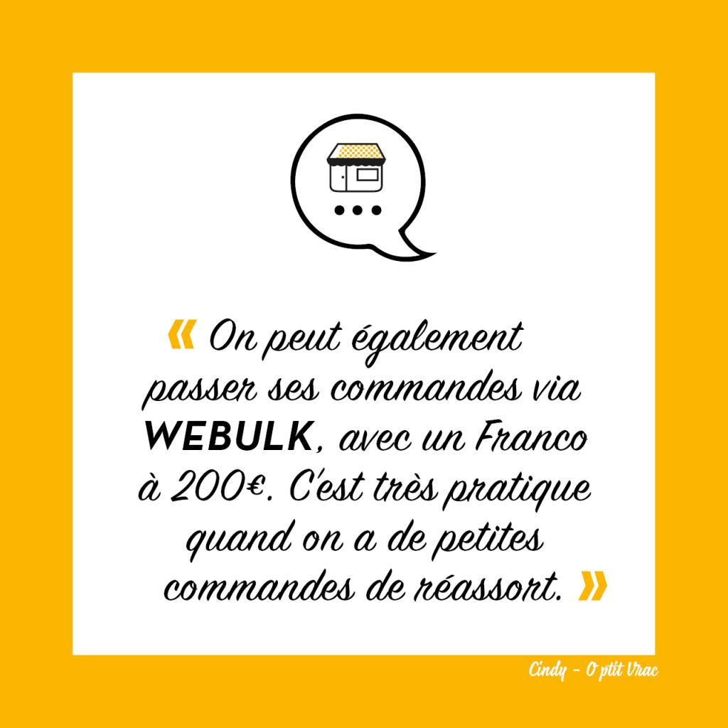 Avis sur WeBulk marketplace du vrac