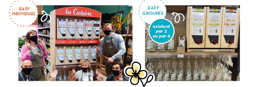 Easy groupé distributeur vrac liquide Jean Bouteille