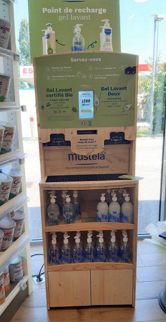 La marque Mustela propose son gel lavant doux et son gel lavant bio pour les bébés en pharmacie