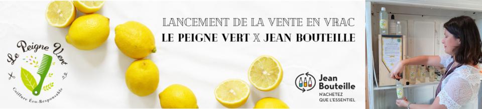 Notre service bulk for brands by Jean Bouteille a accompagné le Peigne Vert dans la distribution vrac de leurs produits